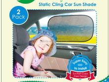 baby care static cling car side sunshade/car windshield sun shade