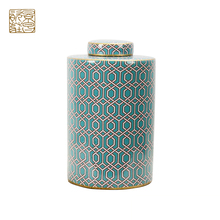 Modern Restaurant Kitchen Decorations Storage Tanks ceramic jar <strong>container</strong>