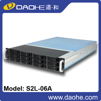 2U 12bays Hot Swap storage rackmount chassisi Server Case Hot sale