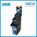 Strong corrugated Cardboard floor display rack for lights