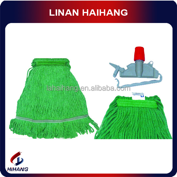 China Eco-Friendly Feature and magic microfiber cloth Mop ,Head Material flat mop head,card locked cotton mop,