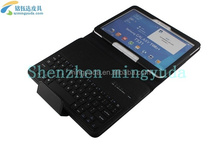 "Wireless Bluetooth Keyboard For Samsung 10.1 inch 10.1"" Tablet PU Case Cover"