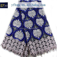 Pakistani dress materials big heavy lace swiss voile alce/ royal blue african dry lace fabric/ nigerian fabrics 2014
