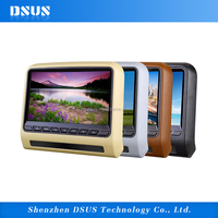 Headrest Car DVD Player 9 inch portable vcd cd mp3 mp4 player
