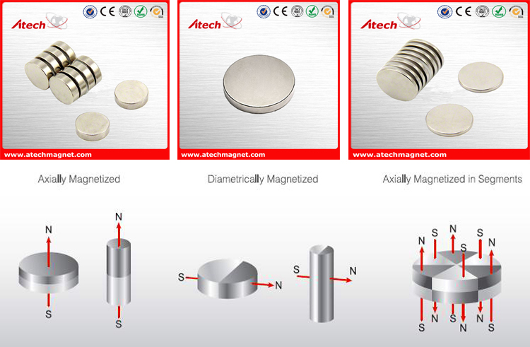 Powerful Disc Magnets Neodymium D30*3mm Magnet Price