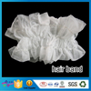 High Quality Hairdressing Disposable PP Nonwoven Hair Band Eco-Friendly Elastic Hair Bands