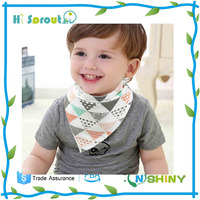 Personalized Customized Seamless Baby Bandana Drool Bibs For Kids