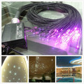 PMMA plastic end glow fiber optic cable for star sky ceiling Widely Used In hotel Light decoration