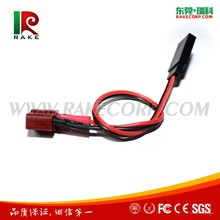 T Female Plug to JR/Futaba Female Banana Plug Rc Battery Charging Adapter cable