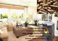 8kw wood pellet stove/pellet heater 0086-15238693720