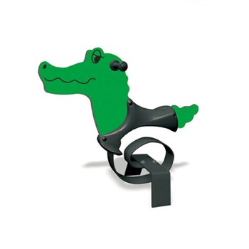 Outdoor playground spring rider toy involve kid rock like animal rocking horse  HF-G210D