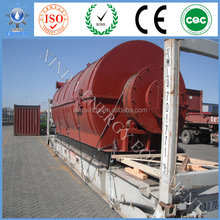 Auto alarm control system pyrolysis plant recycle waste tire/plastic/medical waste to fuel oil