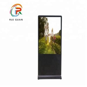43 inch touch advertising display lcd screen kiosk media player