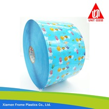 BOPP Frontal Film Frontal tape for Adult & Baby Diaper Glossy Frontal Tape