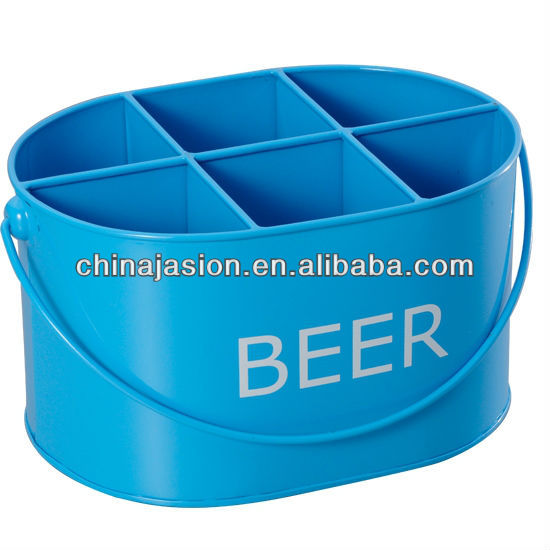Blue Galvanized Steel & Power Coating Beverage/beer Ice Tub