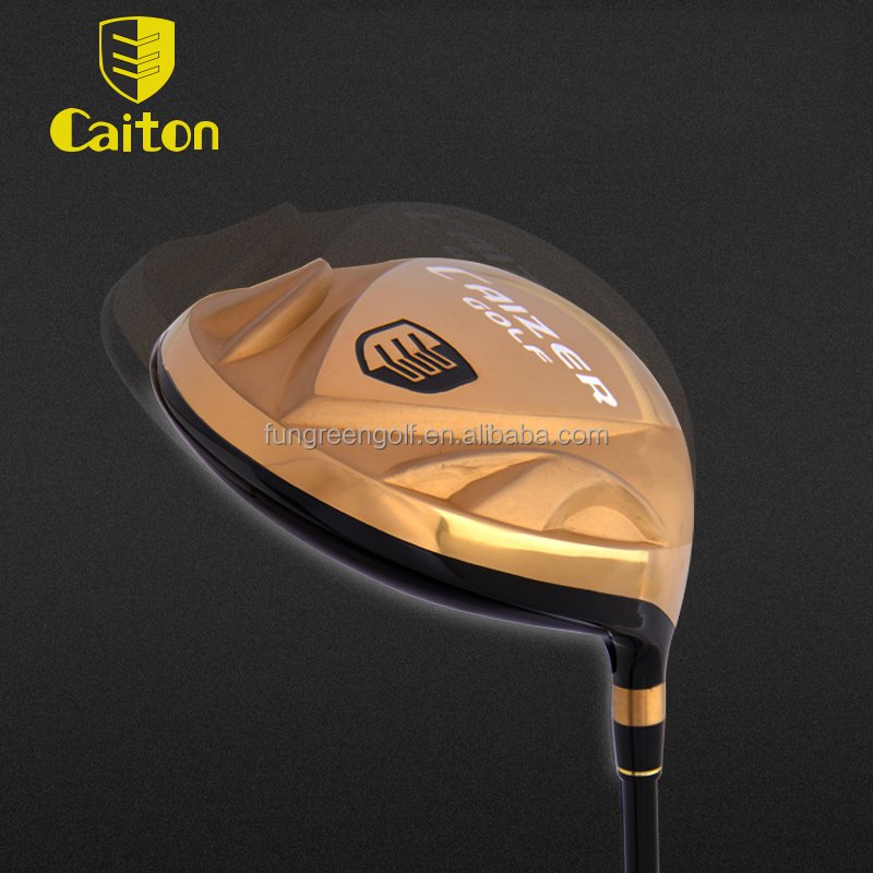 Caiton Gold Color Golf Driver,Golf Head, China Wholesale Golf Club