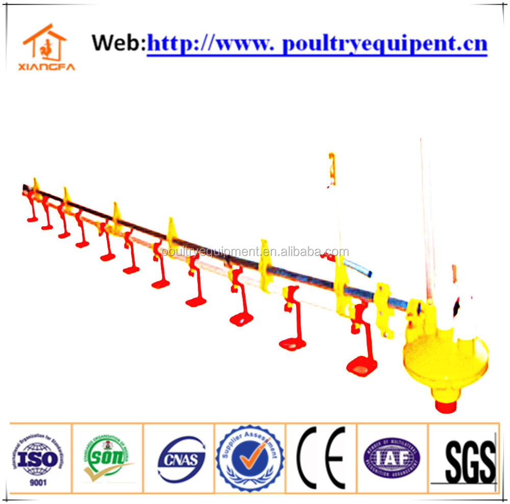 2016 hot sale poultry farming equipment automatic chicken nipple drinking system with ce certification