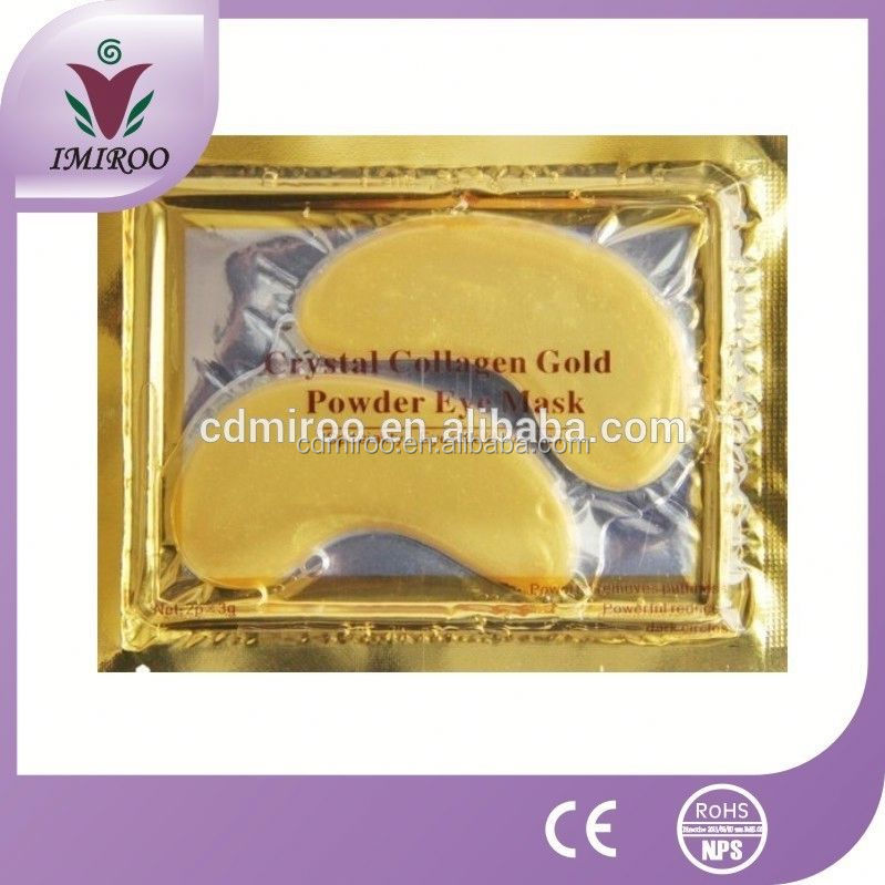 collagen and hyaluronic acid anti-aging, anti wrinkle Crystal Collagen Gold Powder Eye Mask