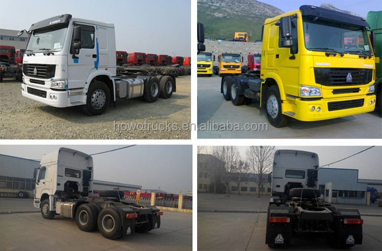 2016 Hot Sale Sinotruck HOWO A7 420hp Primer mover Tractor truck