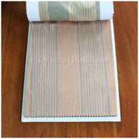 2015 Newest High-Grade luxury 100% Polyester printed blackout flame retardant fabric for window curtain/drape