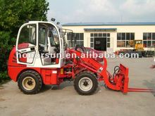 Honorsun 1.0T /4WD mini wheel loader with CE