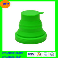 2013 Popular Eco-friendly Silicone Collapsible Travel Cup
