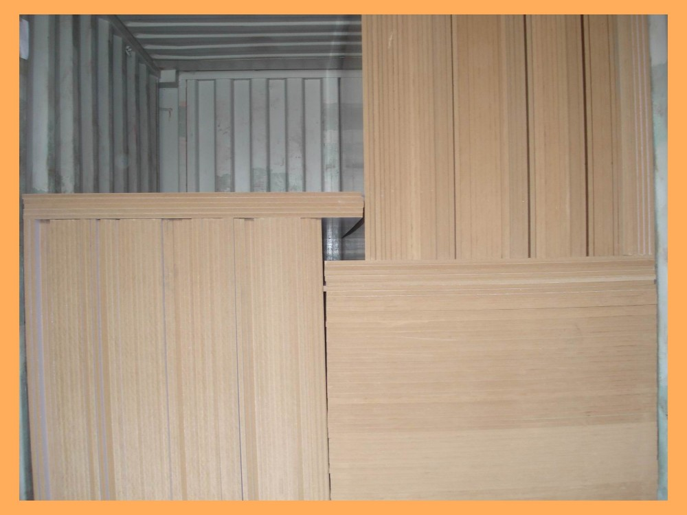 Aluminum faced veneered mdf plywood price aluminium