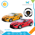 Scale 1:10 high speed steering wheel car toys remote control with PVC car shell