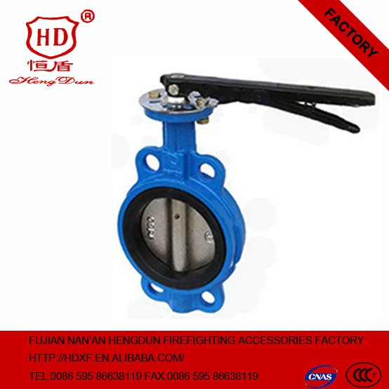 Worm Gear Actuated Flange Triple Eccentric Butterfly Valve