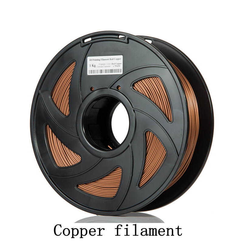 Sunhokey Manufacturer Directly 3d printer filament 1.75mm /3.0mm PLA/PLA+/ABS/ Wood/ Copper/Carbon Fiber/glow in the dark/flex