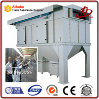 Air duct cleaning equipment for industrial dust collecting