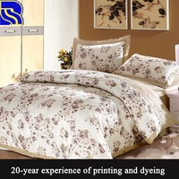 Best selling 100% cotton comfortable bedding sets wholesale