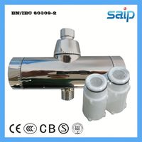 chromed shower filters non electric alkaline water filter