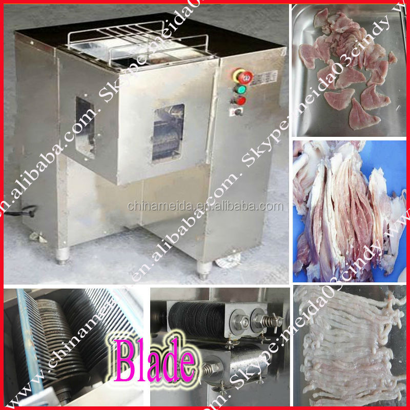 2014 New 250-1500kg/h Home Restaurant Use Stainless Steel Electric cooked meat cutting machine Meat Cutter
