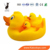 High Quality Simulation Duck Vinyl Toys Safety Soft Material Bath Toy For Kids