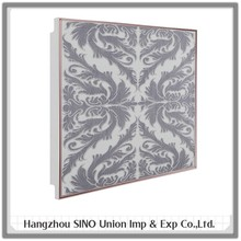 pop ceiling design for kitchen washroom office China metal suspended artistic ceiling tiles