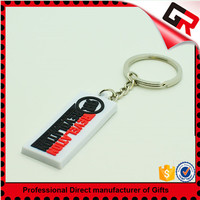Cheap wholesale soft customize pvc key holders