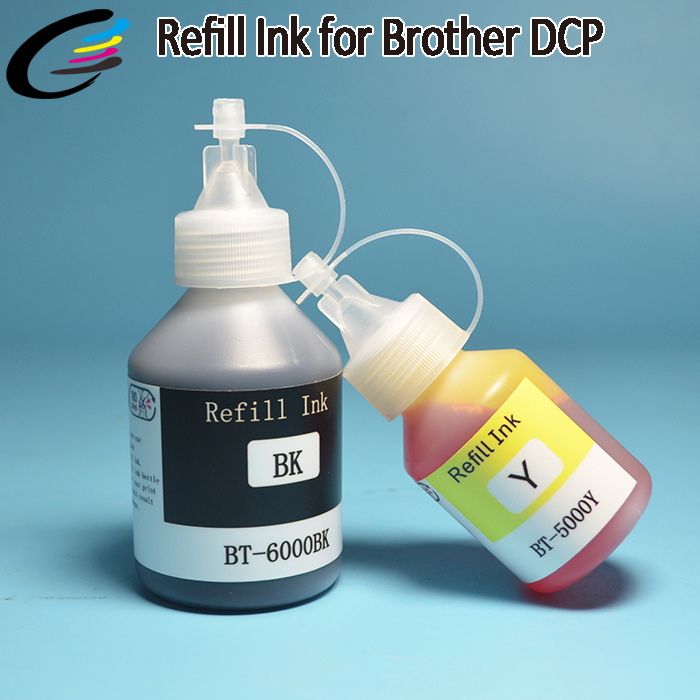 Bottle Refill Pigment Ink for Brother DCP T300 T500W T700W T800W Printer