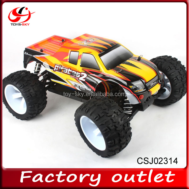 product gs  new whole proportional wd brushless electric monster remote control truck for sale