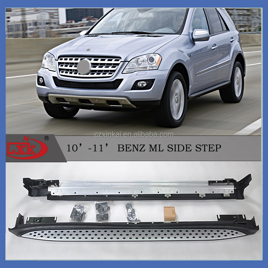 W164 Aluminum braket Aluminum Running board/side step for ML 2010-2011 from CXK china factory