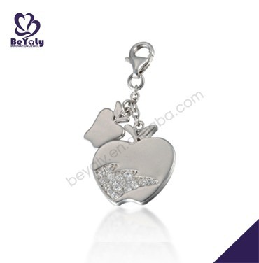 Apple shape design wholesale silver statement collar