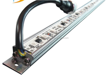 factory direct sale mutil color 5050 rgb led strip dc12v, 48leds light waterproof Rigid light bar