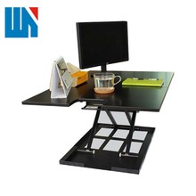 Easy assembly cheap price metal frame stainless steel corner work table
