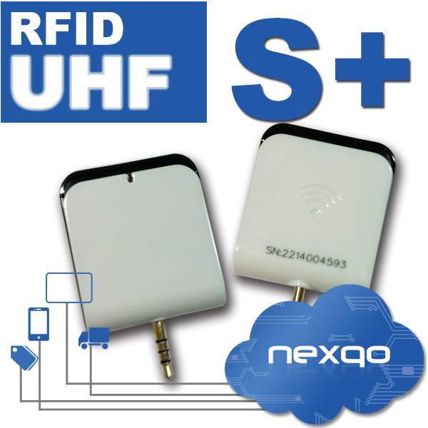 3.5mm ISO18000 6C rfid uhf reader for mobile phones