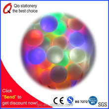 High quality LED flash golf ball / Durable night glow golf ball/night visible LED golf balls