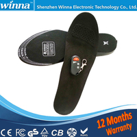 NEW PRODUCT BATTERY POWERED HEATED INSOLES FOR SHOES BOOTS WIRELESS WINTER FOOT WARMERS