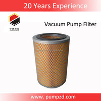 XD vacuum pump replace parts busch air filter intake filter element