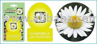 Car Home Paper Hanging Air Freshener Chamomile Flower Air Freshener