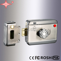RFID card Intelligent lock with red button