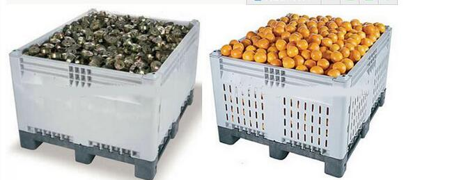 large plastic crates for fruits and vegetables